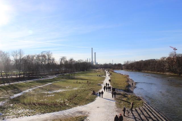 auf der Wittelsbacher Brücke