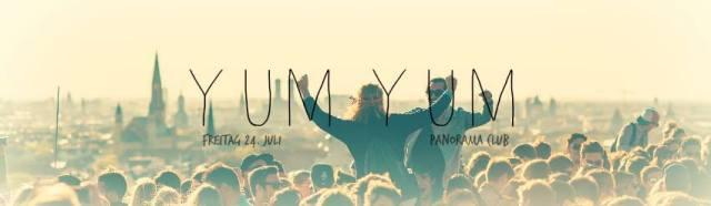 YUM YUM Dachterassen Sommerfest