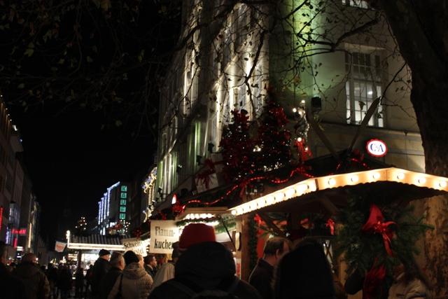 Weihnachtsmärkte in der Stadt