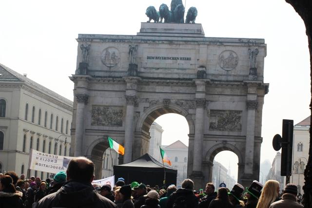 St. Patricks Day Parade  am Tor