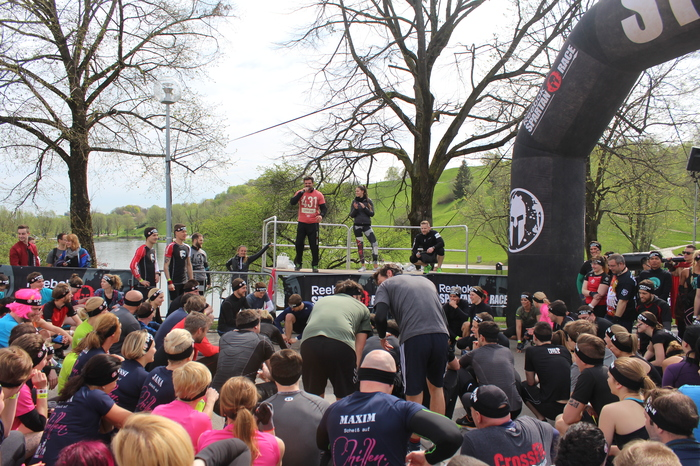Spartan Race beim Start